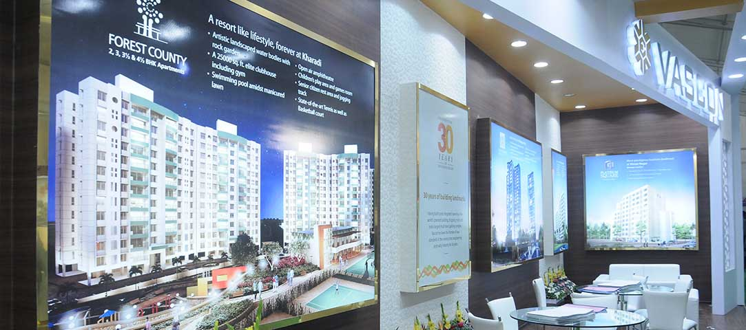 Real Estate Exhibition Stall : D stall design exhibition stall design fabrication agency in pune